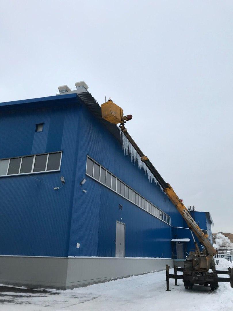 Механизированная уборка снега москва